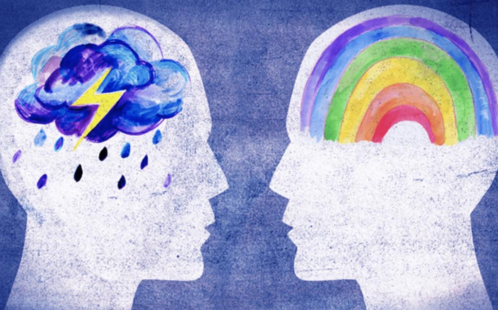 Два человека без эмпатии думают о разном