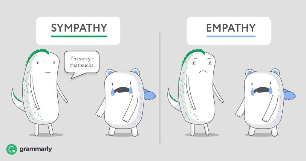 Разница между эмпатией и симпатией