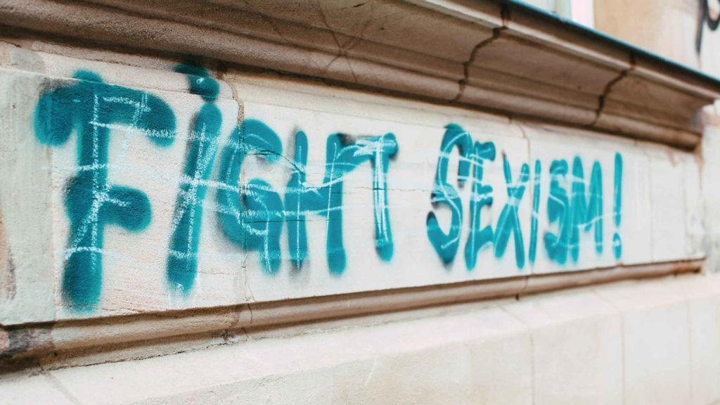 Граффити борьба с секзизмом