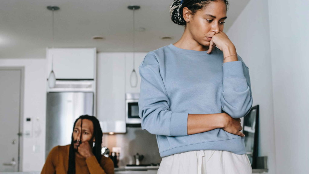 Жена не может пережить предательство мужа